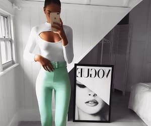 fashion style, girly inspiration, and outfits goals image