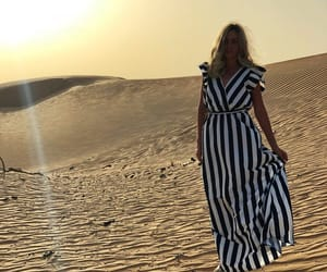 desert, Dubai, and sand image