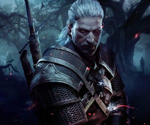game, the witcher, and witcher image