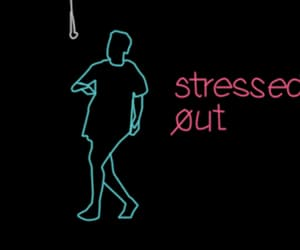 gif, stressed out, and twenty one pilots image
