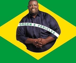 Bandeira, brasil, and engracado image