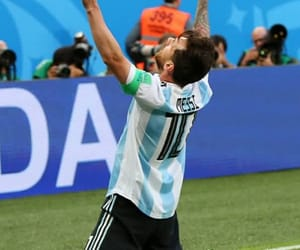 leo messi, argentina, and world cup image