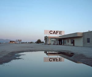 cafe, aesthetic, and sky image