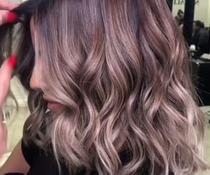 hair, naturally, and ombre image
