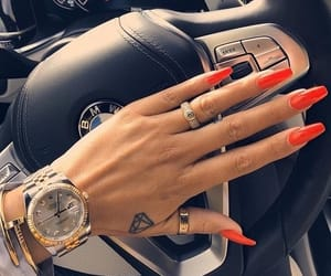 nails, bmw, and car image