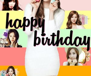 girls generation, kpop, and happy birthday image