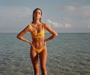 beach, beauty, and bikini image