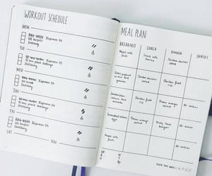 inspiration, workout, and bujo image