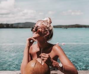 beach, hapiness, and tan image