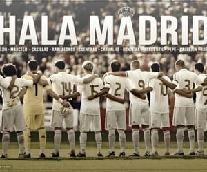 real madrid, hala madrid, and halamadrid image