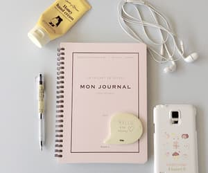 pink, aesthetic, and journal image