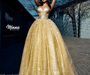 crown, luxury, and dresses image