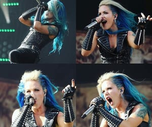 concert, arch enemy, and alissa white-gluz image