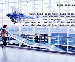 airport, poetry, and tatiana image