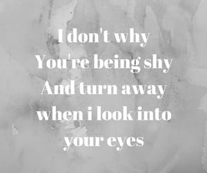 Lyrics, what makes you beautiful, and wmyb image