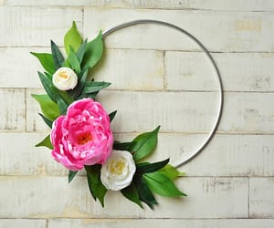 etsy, wall hanging, and wedding wreath image