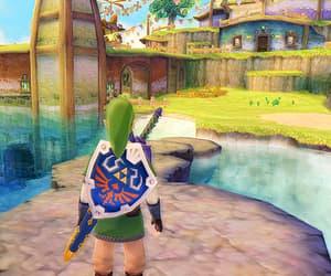 link, nintendo, and the legend of zelda image