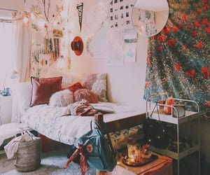 alternative, tumblr bedroom, and bedroom image