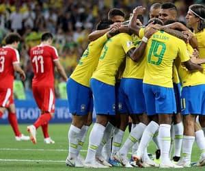 Barcelona, brasil, and football image