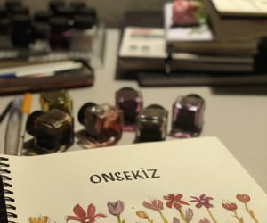 flowers, inkt, and onsekiz image