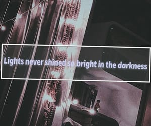 fairylights, light, and quotes image