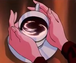 90s, coffee, and sailor moon image
