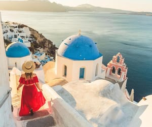 atmosphere, dress, and Greece image