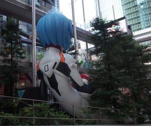 anime, evangelion, and friki image