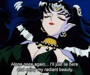 anime, sailor moon, and alone image