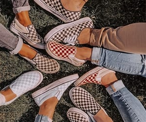 vans, shoes, and fashion image