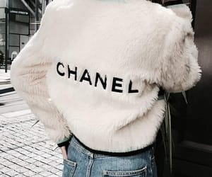 chanel, white, and jaket image