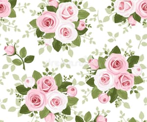 roses, wallpaper, and pink roses patterns image