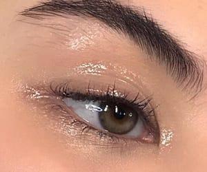aesthetic, eyebrows, and makeup image