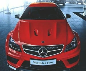 car, chic, and mercedes-benz image