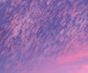sky, purple, and violet image