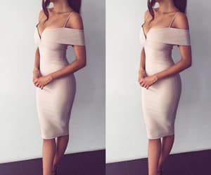 fashion, outfit, and bodycon dress image