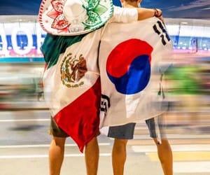 korea and méxico image