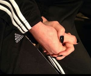 adidas, couples, and teens image
