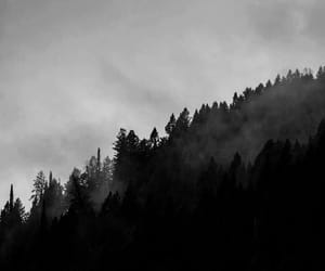 b&w, black, and clouds image