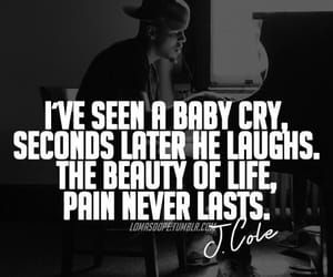 life, quotes, and j cole image