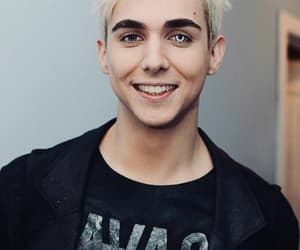 bleached, blonde, and eye image