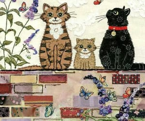 cats and garden image
