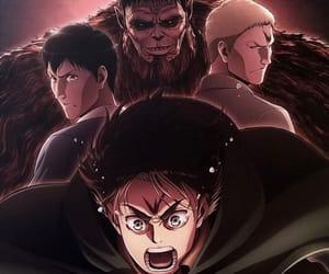 season 2, attack on titan, and bertholdt image