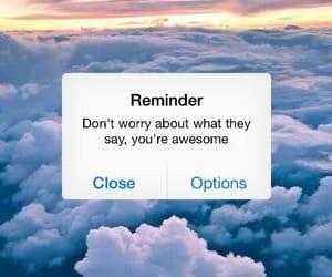 reminder, tumblr, and wallpaper image