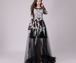 formal dresses, evening dresses, and lace appliques image