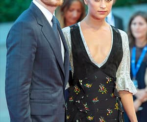 couple, pretty, and alicia vikander image