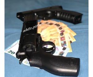 gun, rue, and money image