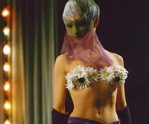 catwalk, high fashion, and masquerade image