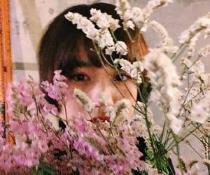flower, girl, and kawaii image