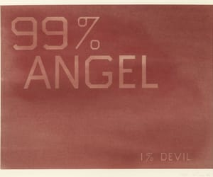 angel, Devil, and aesthetic image